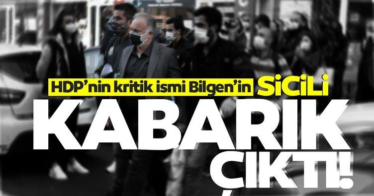 HDP'li Ayhan Bilgen'in sicili kabarık çıktı