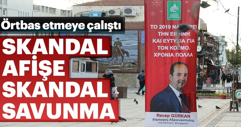 CHP'li Gürkan'dan skandal afişe skandal savunma