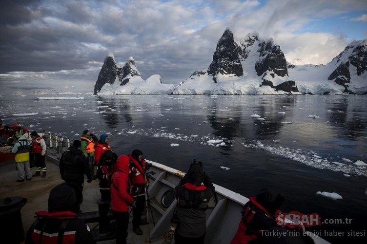 Antarktika Türk bilim insanlarına laboratuvar oldu
