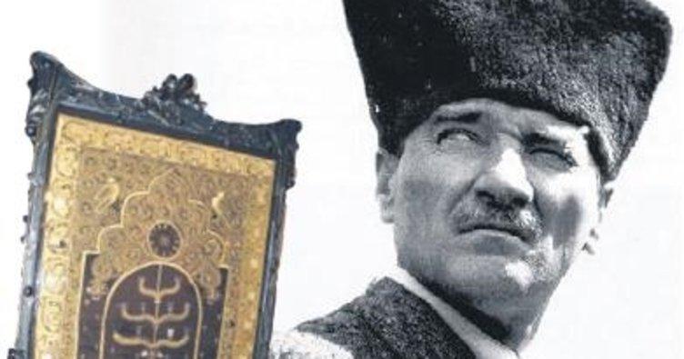 Atatürk'e hediye edilen halıda 89 yıllık gizem