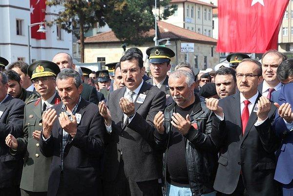 Afrin Şehidi Taner Kart'ı son yolculuğuna on binler uğurladı