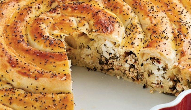 Peynirli ve Otlu Börek