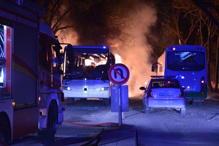 Ankara'da büyük patlama