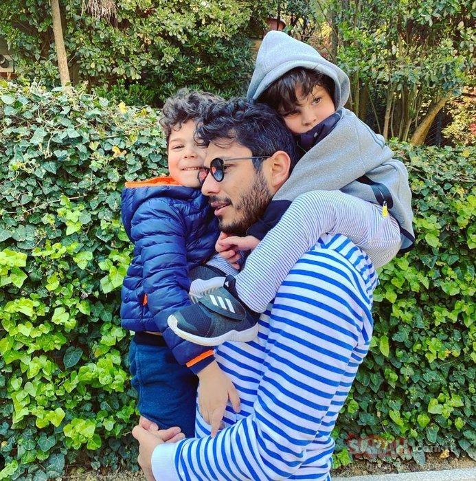 Pelin Karahan ile eşi Bedri Güntay 6 yılı geride bıraktı! Pelin Karahan'dan eşi ve çocuklarıyla mutlu aile pozu...