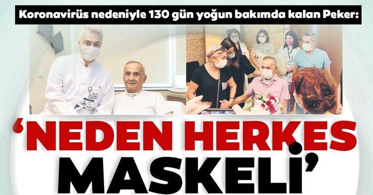 'Neden herkes maskeli'