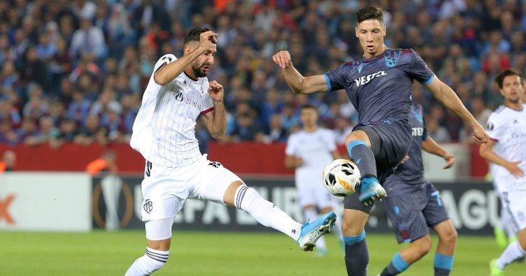 Trabzonspor galibiyeti 2 dakikada kaçırdı