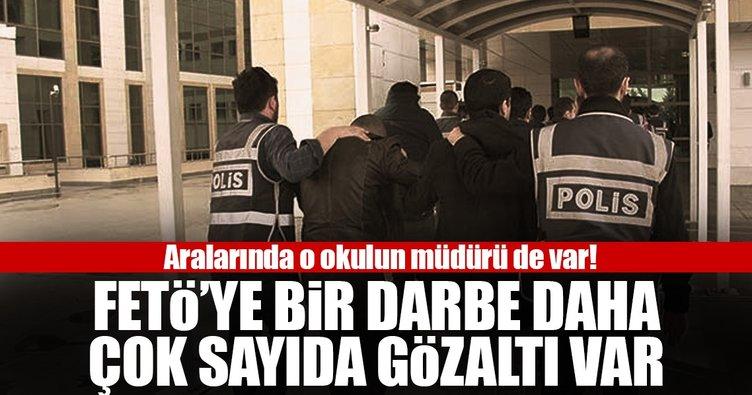 Balıkesir'de FETÖ operasyonu: 11 gözaltı