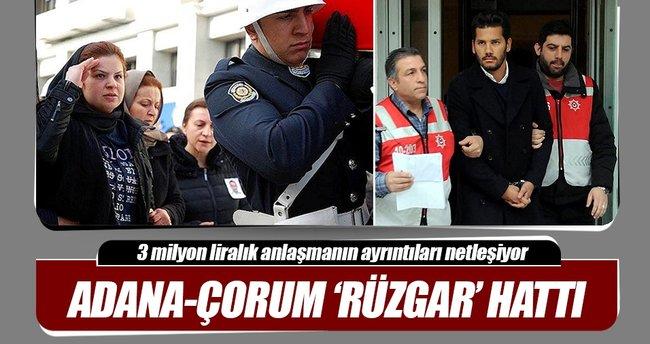 Adana-Çorum 'Rüzgar' hattı