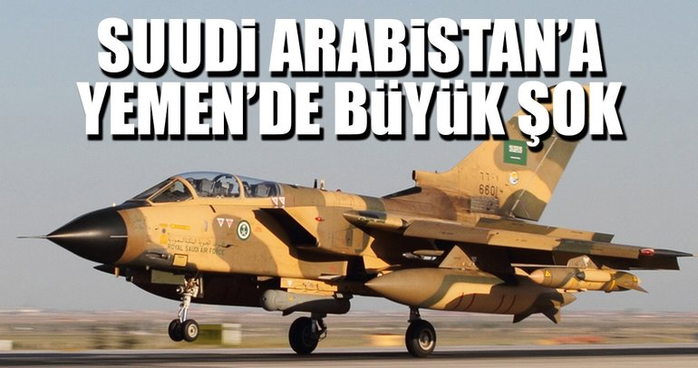 Yemen'de Suudi Arabistan savaş uçağı düştü