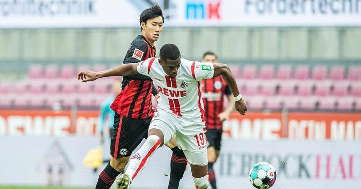 Köln ile Frankfurt puanları paylaştı! Köln 1-1 Eintracht Frankfurt
