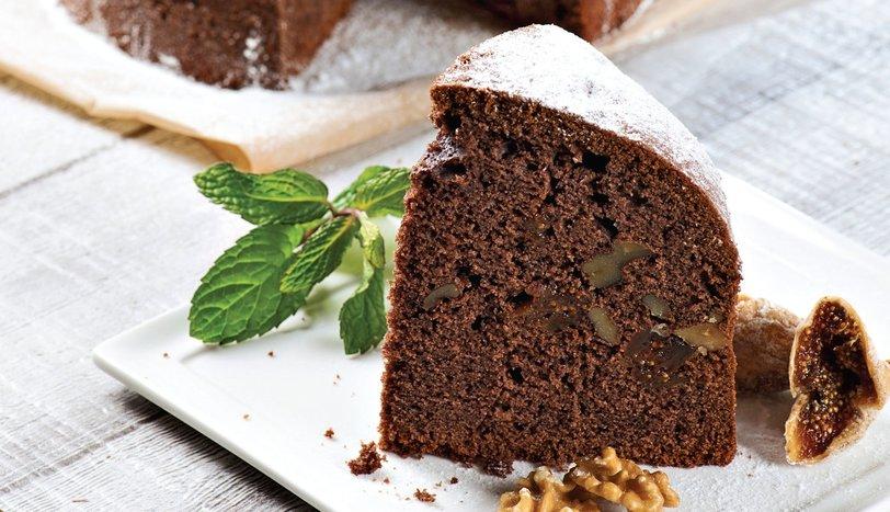 İncirli ve cevizli kek