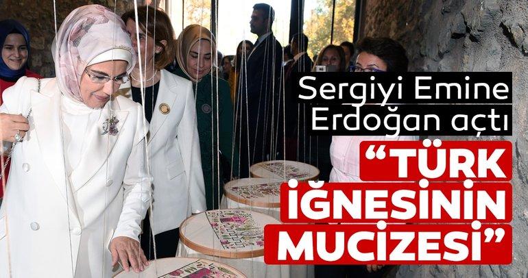 Olgunlaşma Enstitüleri Kurumsal Dönüşüm Toplantısı ve Sergi Açılışı'nı Emine Erdoğan yaptı