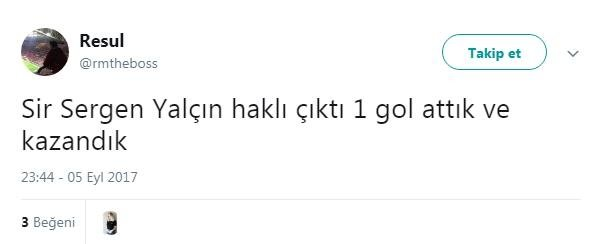 Sergen Yalçın'ın sözleri sosyal medyayı salladı