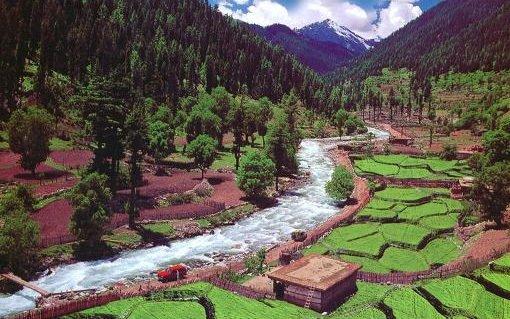 Pakistan'dan görülmemiş manzaralar