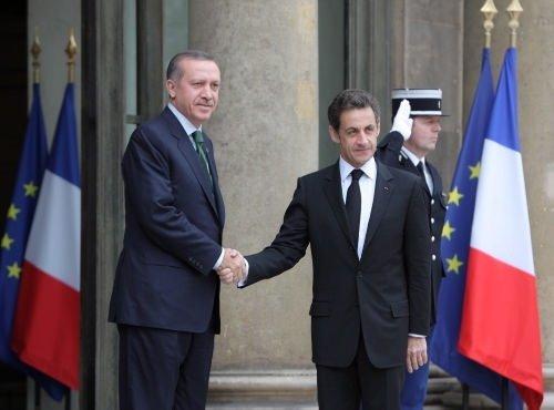 Erdoğan-Sarkozy buluşması