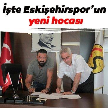 İşte Eskişehirspor'un yeni hocası