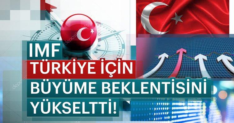 IMF, Türkiye için büyüme beklentesini yükseltti