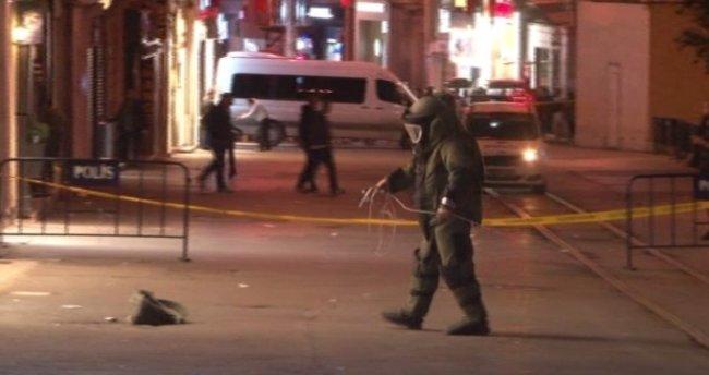Şüpheli çanta İstiklal Caddesi'nde panik yarattı