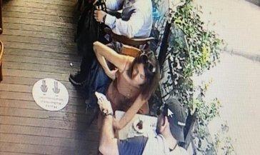 Restorandaki hırsızlık anbean kameralara yansıdı! O hırsız kıskıvrak yakalandı