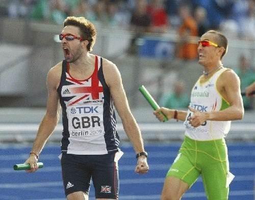 Atletizm şampiyonasından ilginç kareler