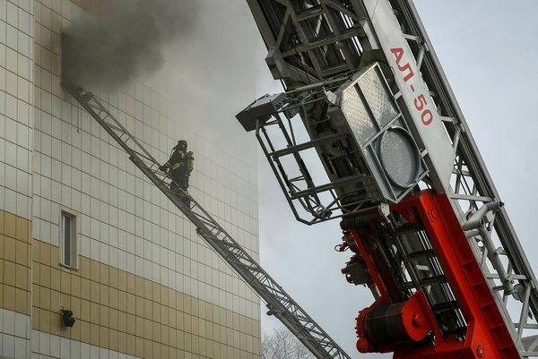 Rusya'daki yangında şok fotoğraflar ortaya çıktı!