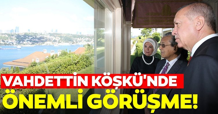 Erdoğan, Mahathir ile kahvaltıda buluştu