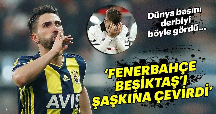 Beşiktaş-Fenerbahçe derbisi, Dünya basınında da ses getirdi