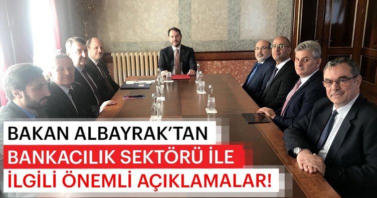 Hazine ve Maliye Bakanı Berat Albayrak, Katılım Bankalar Birliği Yönetimi ile toplantı gerçekleştirdi
