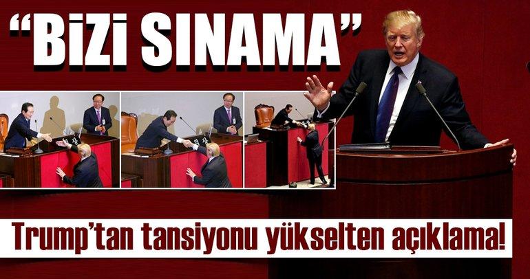 Son dakika: ABD Başkanı Trump Güney Kore'de
