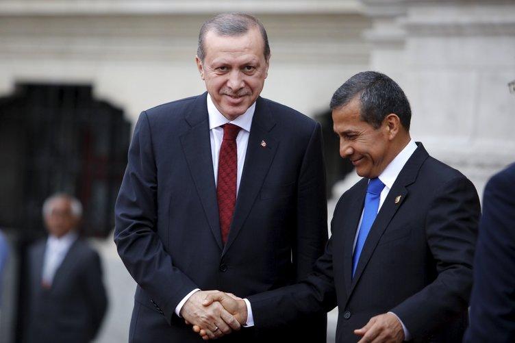 Cumhurbaşkanı Erdoğan Peru'da