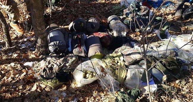 Bingöl'de PKK'lıların patlayıcıyla tuzakladığı sığınak bulundu