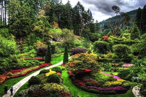 Dünyanın en güzel bahçeleri