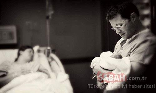 Ölü doğan bebeğinin fotoğraflarını paylaştı!