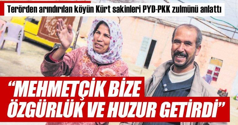 Mehmetçik bize özgürlük ve huzur getirdi