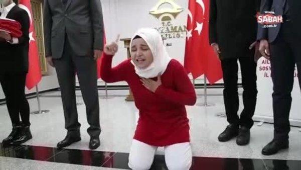 Okuduğu İstiklal Marşı ile duygusal anlar yaşattı | Video