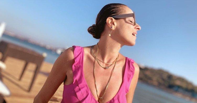13 kilo veren Doğa Rutkay son haliyle büyüledi! Tatil sezonunu açan Doğa Rutkay'ın bikinili pozları beğeni topladı