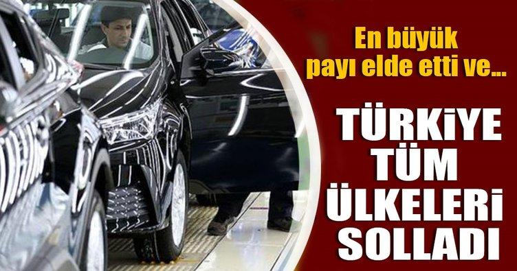 AB'ye motorlu taşıt satışında Türkiye lider
