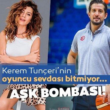 Kerem Tunçeri şimdi de gönlünü Gökçe Bahadır'a kaptırdı!