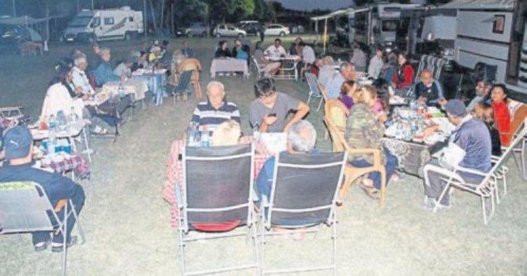 Çal'da kamp ve karavan turizmi