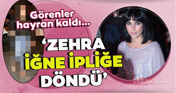 Hülya Avşar ile Kaya Çilingiroğlu'nun kızları Zehra Çilingiroğlu iğne ipliğe döndü… Görenler hayran kaldı…
