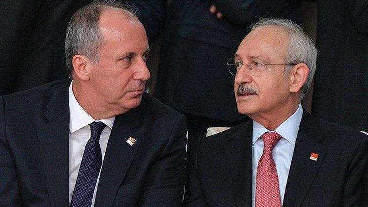 SON DAKİKA HABERİ: CHP'den panik havası! Kemal Kılıçdaroğlu'ndan  Muharrem İnce talimatı...