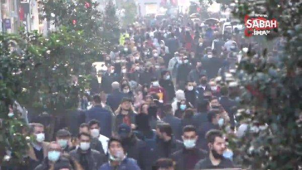 İstanbulİstiklal Caddesi'nde korkutan görüntü | Video