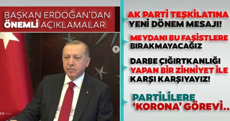 Son dakika! Başkan Erdoğan'dan CHP'nin darbe imalarına sert tepki: Meydanı bu faşist zihniyete bırakmayacağız...
