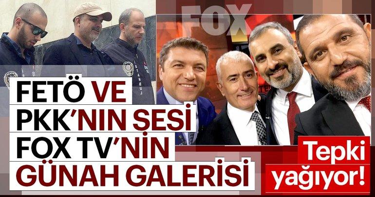 FETÖ ve PKK'nın sesi Fox TV'nin günah galerisi