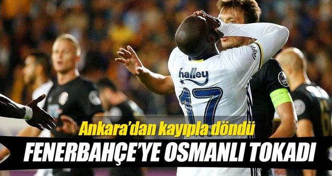 Fenerbahçe'ye Osmanlı tokadı