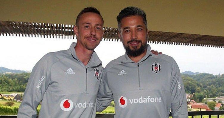 Guti ve İlhan Mansız, Beşiktaş'taki görevlerine başladı