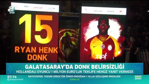 Galatasaray'da Ryan Donk belirsizliği