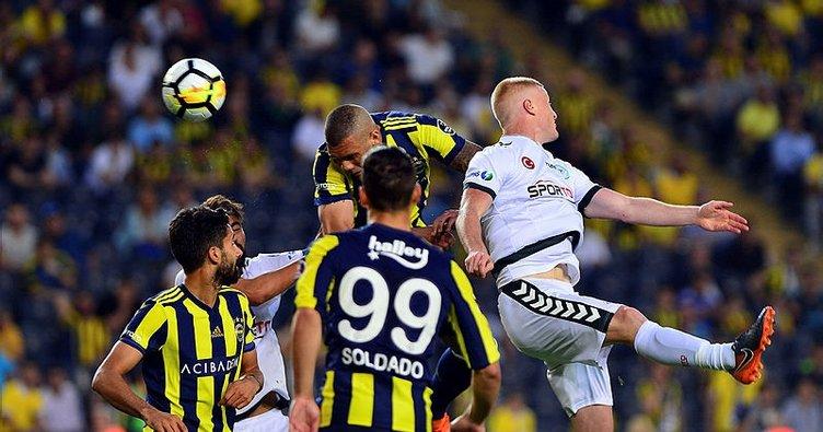 Konyaspor: 4 - Fenerbahçe: 28
