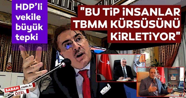 HDP'li vekile büyük tepki