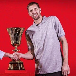Yao Ming ve Kobe Bryant'ın ardından üçüncü elçi Dirk Nowitzki